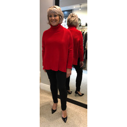 Lucy Cobb Janette Jumper - Red