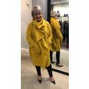 Sophia Snood Neck Jacket - Mustard