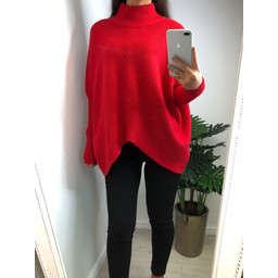 Lucy Cobb Jody Jumper in Red