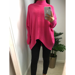 Lucy Cobb Jody Jumper in Fuchsia