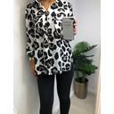 Paloma Printed Shirt - Black & White