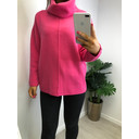 Savanna Centre Seam Jumper - Fuchsia