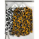 Paloma Printed Shirt - Mustard