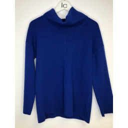 Lucy Cobb Savanna Centre Seam Jumper - Royal
