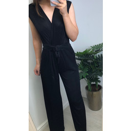 Lucy Cobb Jessie Sparkle Jumpsuit in Black