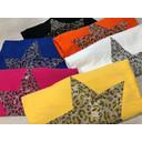 Leopard Star Jumper - Yellow