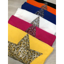 Leopard Star Jumper - Yellow - Alternative 1