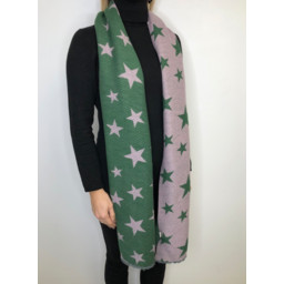 Lucy Cobb Zodiac Star Scarf - Green