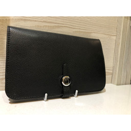 Lucy Cobb Travel Wallet with Purse - Black