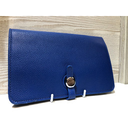 Lucy Cobb Travel Wallet with Purse in Royal
