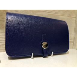 Lucy Cobb Travel Wallet with Purse in Navy
