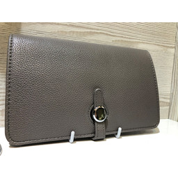 Lucy Cobb Travel Wallet with Purse in Dark Grey