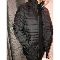 Fransa Paquilt Coat in Black