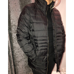 Fransa Paquilt Coat - Black