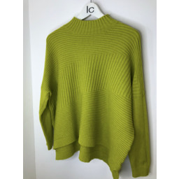 Lucy Cobb Janet Jumper in Lime Green