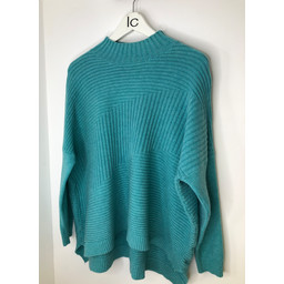 Lucy Cobb Janet Jumper in Aqua