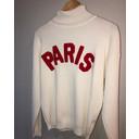 Paris Polo Neck Jumper  - Ivory