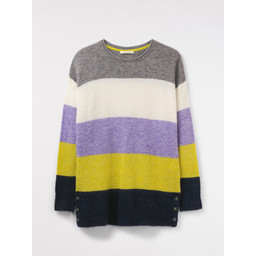 White Stuff Lolly Stripe Jumper - Multicoloured