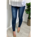 Serena Star Jeans  - Denim