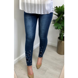 Lucy Cobb Serena Star Jeans  - Denim