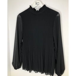 Lucy Cobb Clemmie High Neck Top in Black