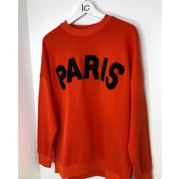 Lucy Cobb Paris Jumper in Orange