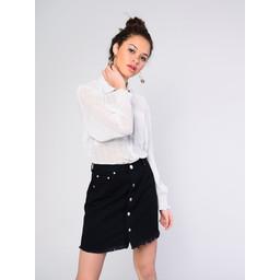 Glamorous Dot Shirt - White