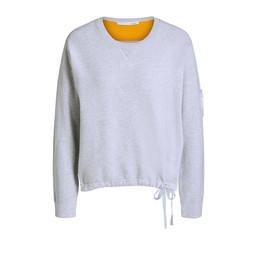 Oui Rainbow Back Sweatshirt - Grey