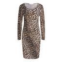 Leopard Print Dress - Leopard Print