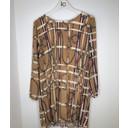 Anissa Animal Print Tunic - Camel Chain