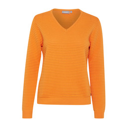 Fransa FR Cimaline 1Pullover in Orange