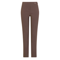 Robell Trousers Marie Full Length Trousers - Taupe