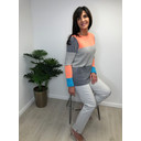 Willow Colourblock Jumper - Multicoloured
