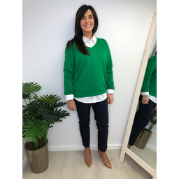 Fransa FR Cimaline 1Pullover in Green