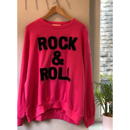 Lucy Cobb Rock & Roll Jumper in Pink