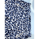 Nena 09 Leopard Print Trousers - Blue Animal Print - Alternative 3