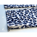 Nena 09 Leopard Print Trousers - Blue Animal Print - Alternative 4