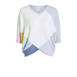 Oui Rainbow Batwing Jumper - Multicoloured
