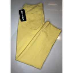 Robell Trousers Bella 09 Trousers in Lemon