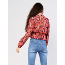 Navy Red Floral Blouse - Navy Mix - Alternative 2