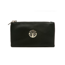 Lucy Cobb Toni Clutch With Strap - Black