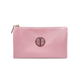 Lucy Cobb Tori Clutch With Strap - Light Pink