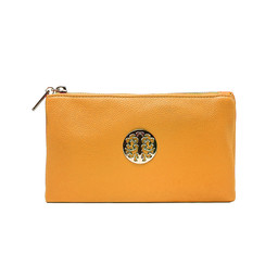 Lucy Cobb Toni Clutch With Strap - Yellow
