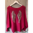 Wing Jumper - Pink