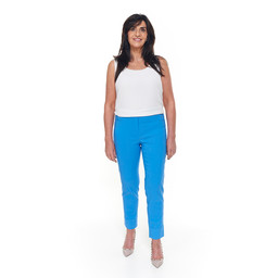 Robell Trousers Bella 09 7/8 Trousers - Azure Blue