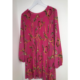 Lucy Cobb Anissa Printed Tunic in Pink Chain