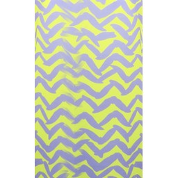 Deck Printed Top in Purple Zig Zag