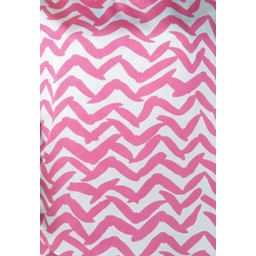 Deck Printed Top in Pink Zig Zag
