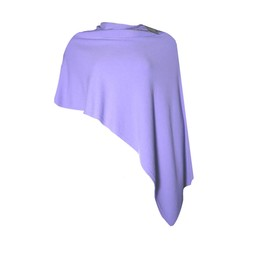 Deck  Raven Poncho in Lilac
