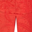 Rose 09 Jacquard Trousers - Orange - Alternative 3